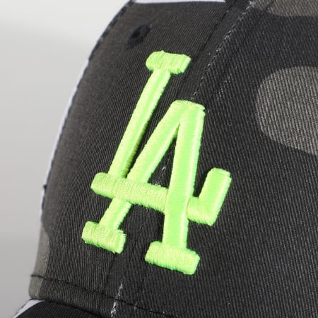 New Era - Casquette Enfant Camouflage 9Forty Los Angeles Dodgers Essential 12381207 Gris Blanc