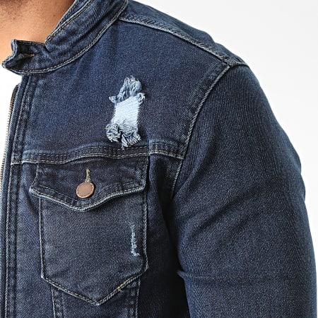 Zayne Paris - Veste Jean VS14 Bleu Denim
