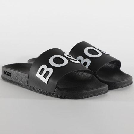 Hugo Boss - Claquettes Bay 50425152 Noir