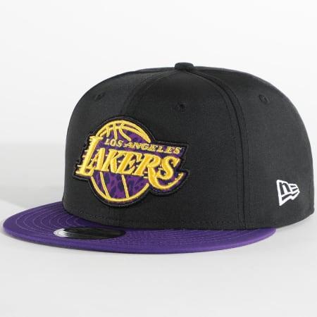 New Era - Casquette Snapback Team 9Fifty Los Angeles Lakers 12380806 Noir Violet