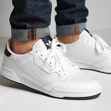 adidas Baskets Continental 80 EF5996 Footwear White Grey