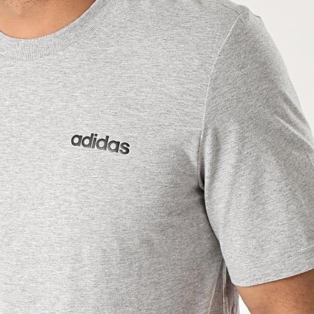 adidas - Tee Shirt Essential Plain DU0382 Gris Chiné