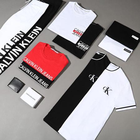 Calvin Klein Jeans - Tee Shirt Poche CKJ Colorblock 6047 Noir