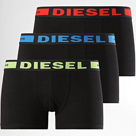 Diesel - Lot De 3 Boxers Kory 00CKY3-0BAOF Noir