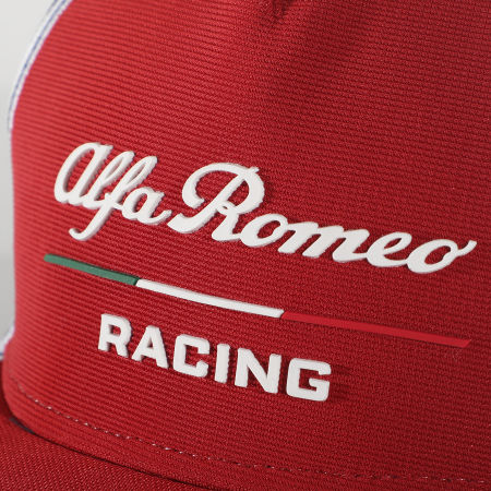 Alfa Romeo Racing - Casquette Team Cap AFRCPF26 Rouge Bleu Marine