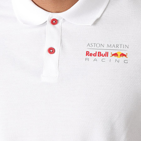 Red Bull Racing - Polo Manches Courtes Aston Martin Racing 170781010 Blanc