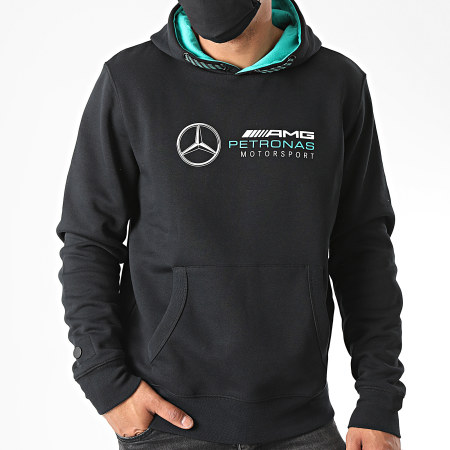 AMG Mercedes - Sweat Capuche 141101007 Noir