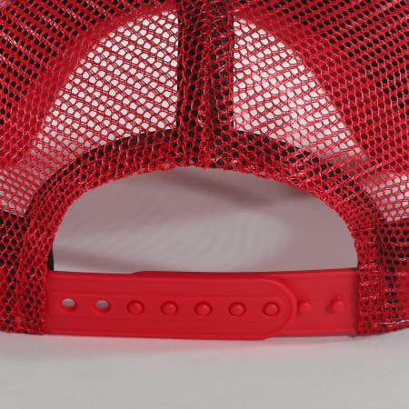New Era - Casquette Trucker Flag  12380888 Rouge Blanc