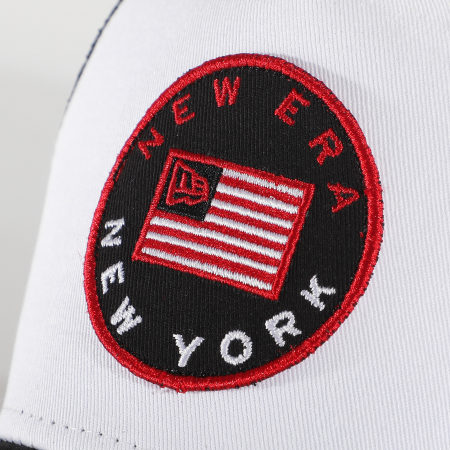 New Era - Casquette Trucker Flag  1238088 Noir Blanc