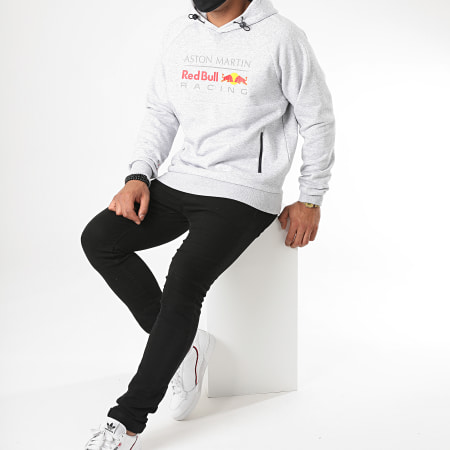 Red Bull Racing - Sweat Capuche Aston Martin Racing 170701006 Gris Chiné