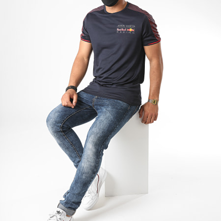 Red Bull Racing - Tee Shirt De Sport Aston Martin Racing 170701014 Bleu Marine