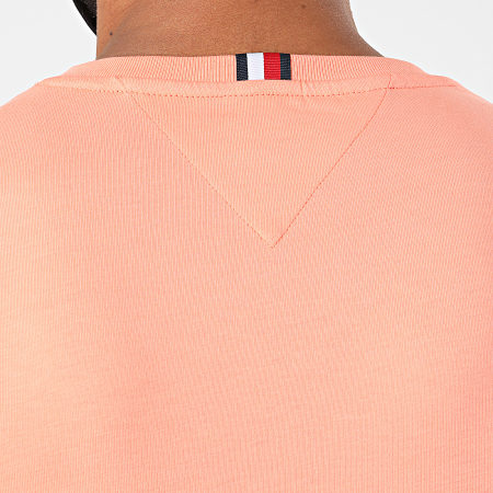 Tommy Hilfiger - Tee Shirt Tommy Flag 4313 Corail