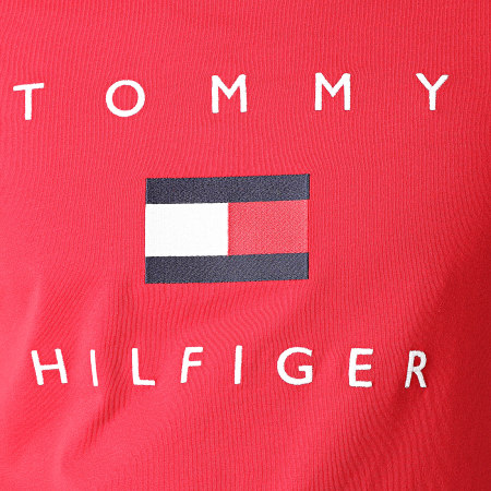 Tommy Hilfiger - Tee Shirt Tommy Flag 4313 Rouge