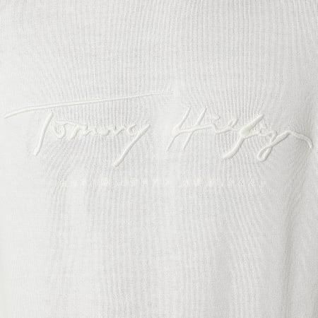Tommy Hilfiger - Pull Tonal Autograph 4421 Blanc Cassé