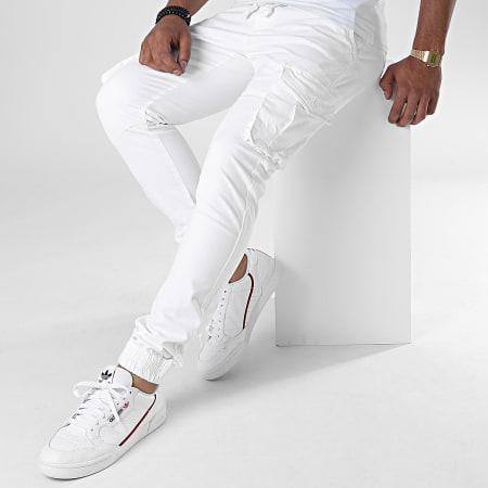 John H - Jogger Pant XQ03 Blanc
