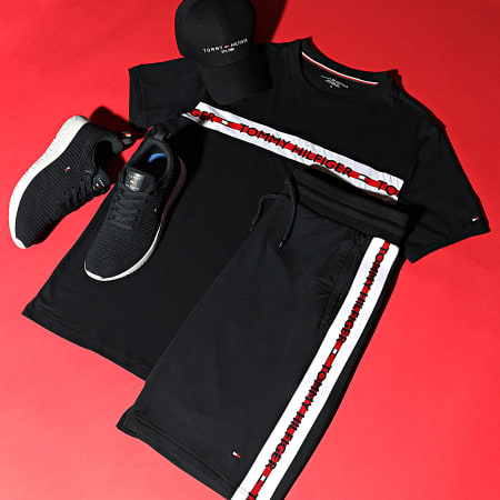 Tommy Hilfiger - Baskets Corporate Knit Rib Runner FM0FM02938 Desert Sky