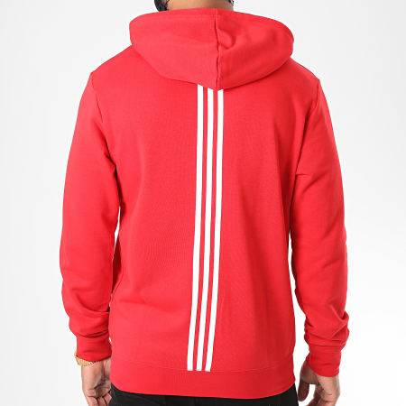 adidas - Sweat Zippé Capuche Arsenal FQ6928 Rouge