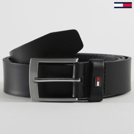 Tommy Hilfiger - Ceinture Adan Leather 6321 Noir