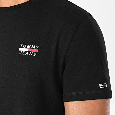 Tommy Jeans - Tee Shirt Chest Logo 7472 Noir