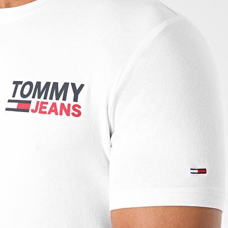 Tommy Jeans - Tee Shirt Stretch 8702 Blanc
