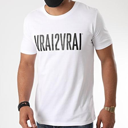 Da Uzi - Tee Shirt Vrai De Vrai Blanc
