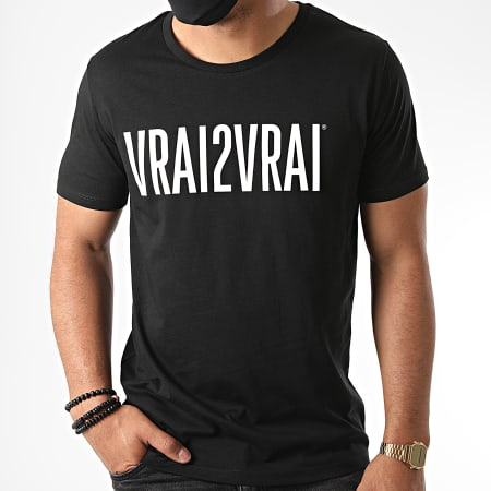Da Uzi - Tee Shirt Vrai De Vrai Noir