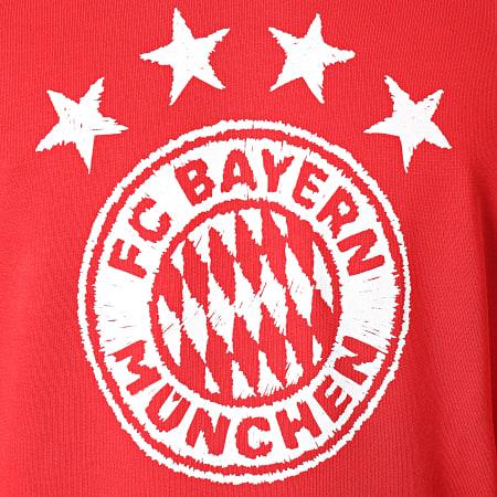 adidas - Sweat Capuche FC Bayern München FR3965 Rouge