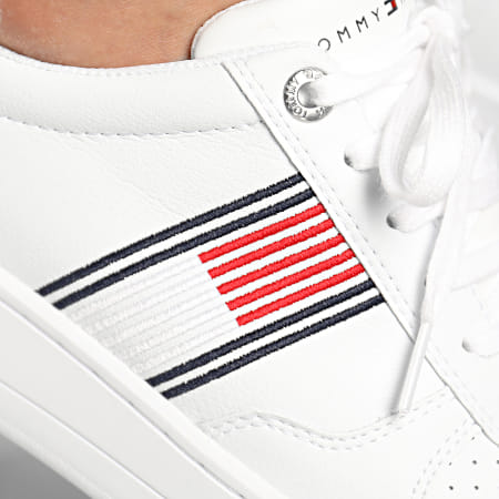 Tommy Hilfiger - Baskets Low Cupsole 2843 White