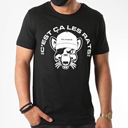L'Allemand - Tee Shirt Rats Noir