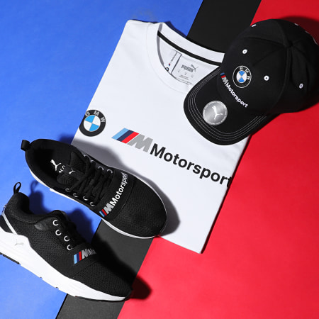 Puma - Baskets BMW M Motorsport Wired Run 306554 Puma Black