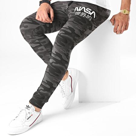 NASA - Pantalon Jogging Japan Camo Noir