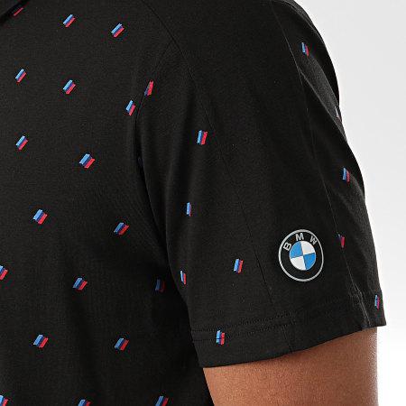 Puma - Polo Manches Courtes BMW Motorsport 598004 Noir