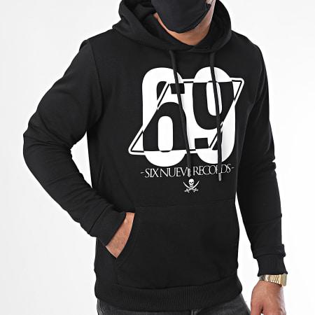 L'Allemand - Sweat Capuche 69 Noir