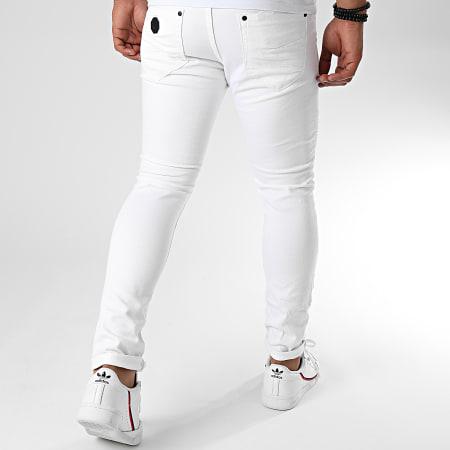 Project X - Jean Skinny T19952 Blanc
