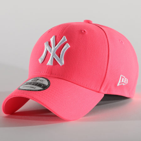 New Era - Casquette 9Forty League Essential Neon 12381036 New York Yankees Rose Fluo