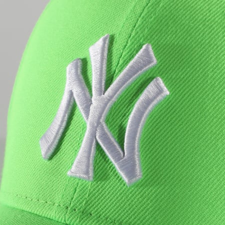 New Era - Casquette 9Forty League Essential Neon 12381037 New York Yankees Vert Fluo