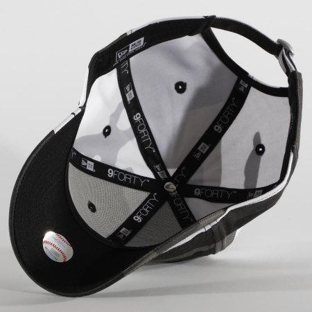 New Era - Casquette 9Forty Camo Essential 12381204 Los Angeles Dodgers Camo Noir