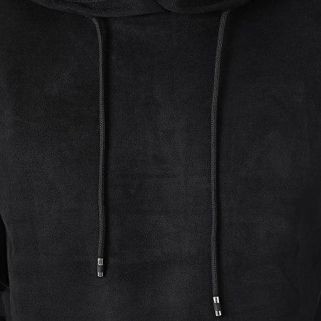 Aarhon - Sweat Capuche 20-234 Noir