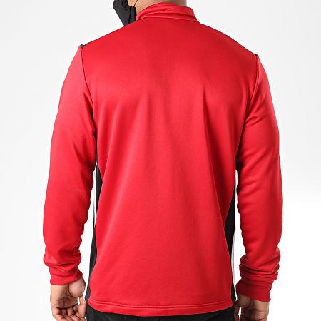 adidas Veste Zippée Regi 18 CZ8628 Rouge Noir