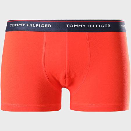 Tommy Hilfiger - Lot De 3 Boxers 3842 Bleu Jaune Orange