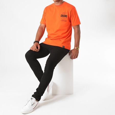 Charo - Tee Shirt Terrain Orange
