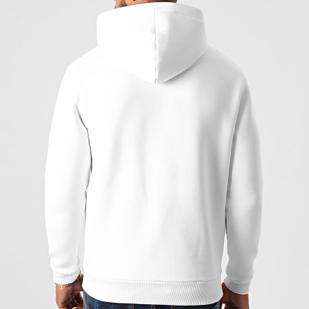 LBO - Sweat Zippé Capuche 1136 Blanc