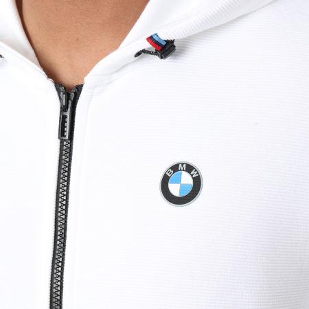 Puma - Sweat Zippé Capuche BMW Motorsport 598001 Blanc