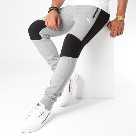 Puma - Pantalon Jogging BMW Motorsport 598002 Gris Chiné