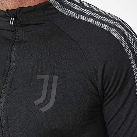 adidas - Veste De Sport A Bandes Juve Anthem FI4884 Noir