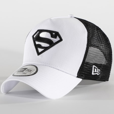 New Era - Casquette Trucker Superman 940 12562133 Blanc Noir