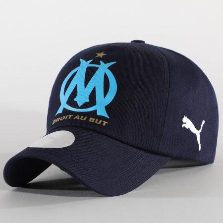 Puma - Casquette OM Team Cap 022472 Bleu Marine