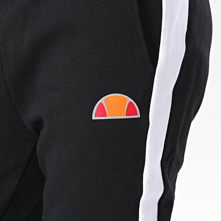 Ellesse - Pantalon Jogging A Bandes Kylian SXG10686 Noir Réfléchissant