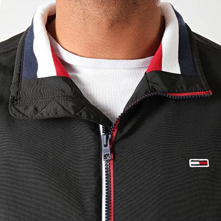 Tommy Jeans - Veste Zippée Essential Padded 8462 Noir