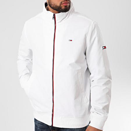 Tommy Jeans - Veste Zippée Essential Padded 8462 Blanc